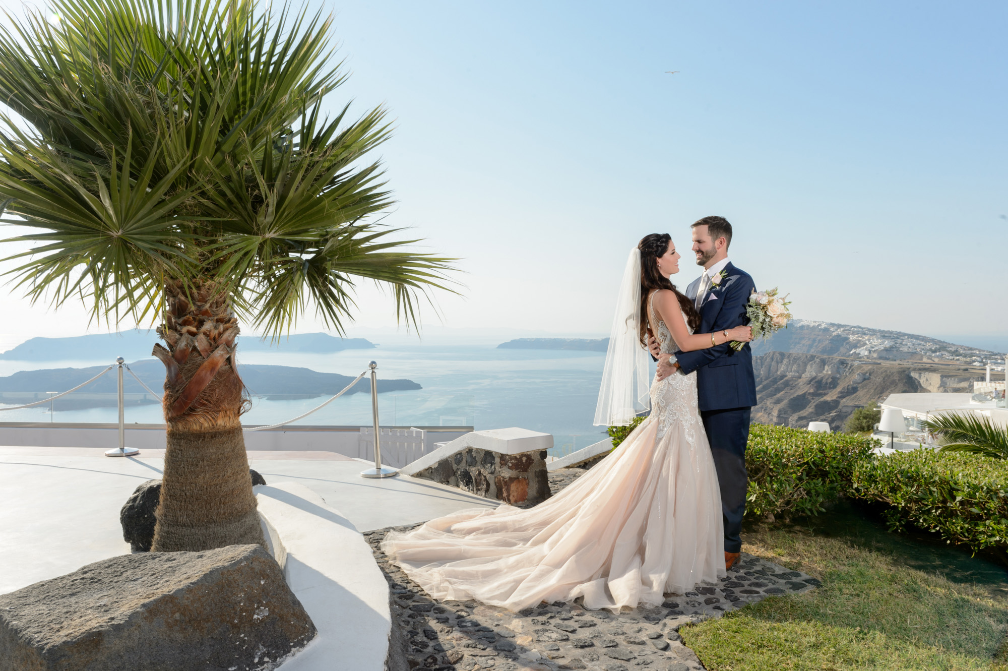 Phosart Gem Jodi and Lee wedding Santorini