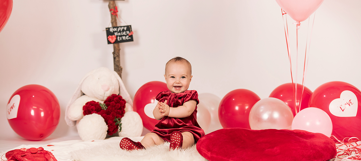 cover in baby valentine