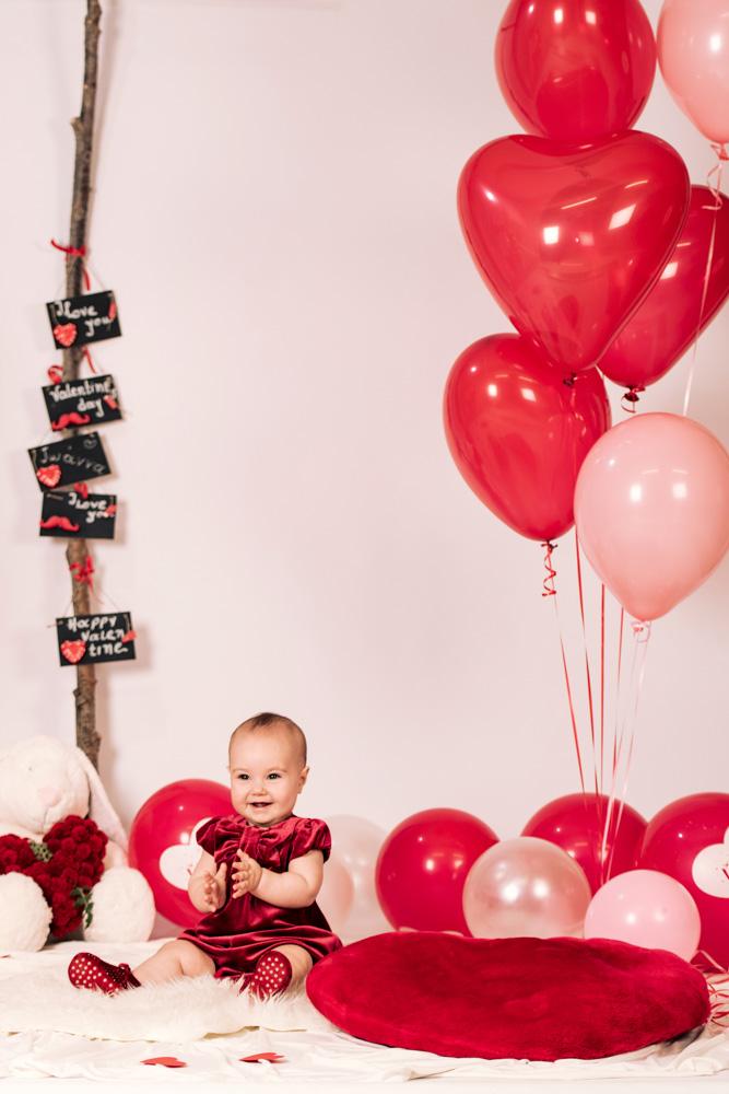 Baby Valentine Photo Shoot At Studio Phosart Studiophosart