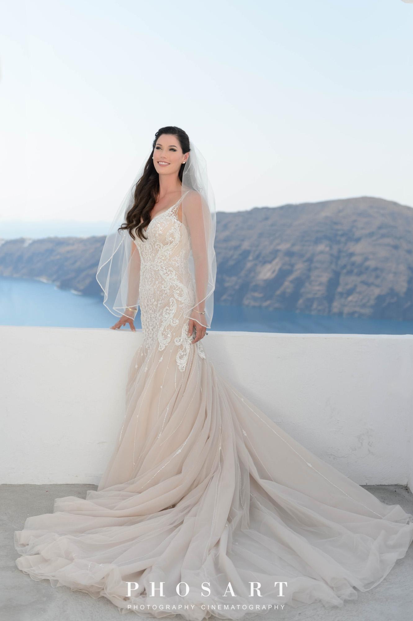Dreamy Wedding At Santorini Gem Studiophosart