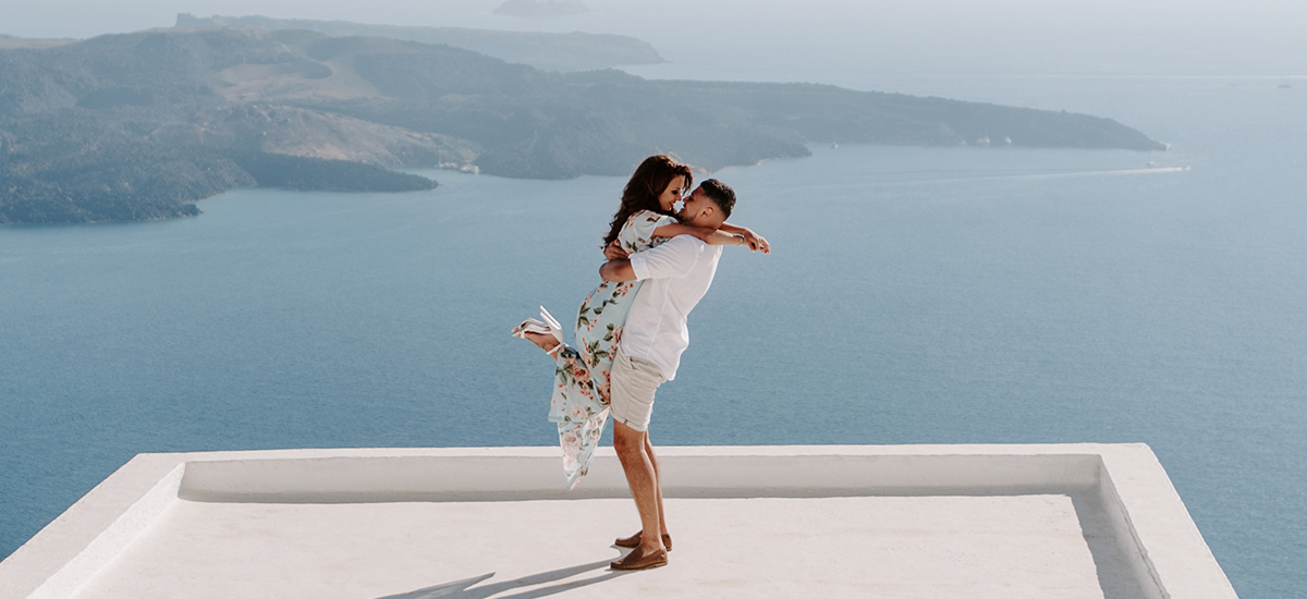 wedding photography santorini destination sunset videography caldera view greece 1067 phosart cover in