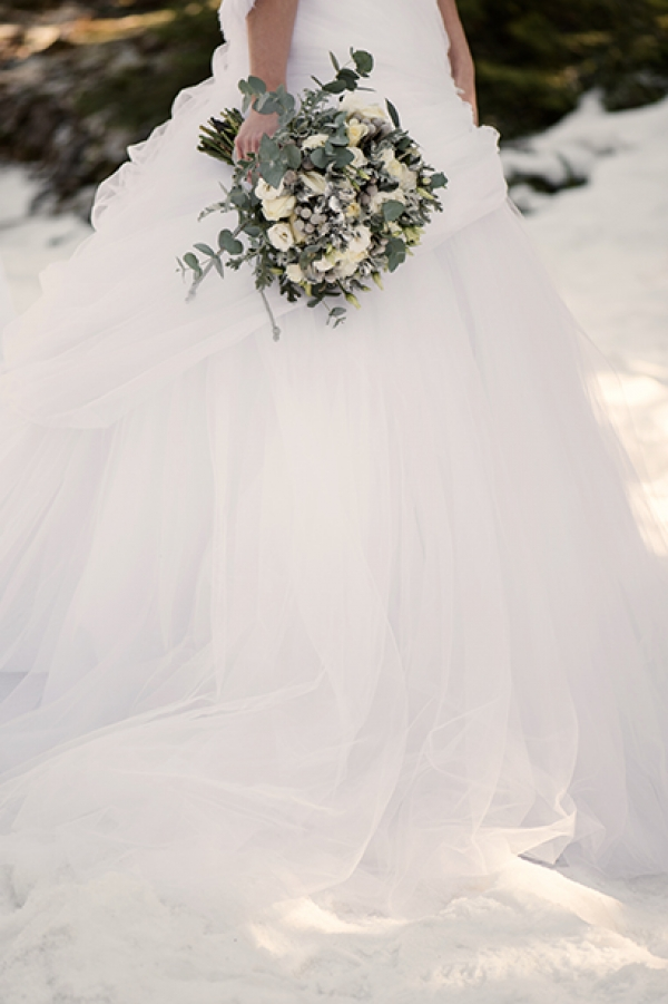 Snow Wedding Inspiration