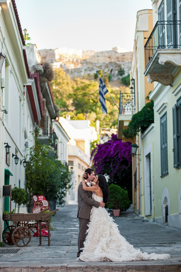Najmeh & Shaun day after wedding shoot in Athens