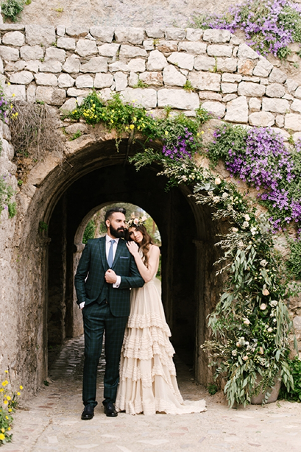 Spring Wedding at Nafplio | Romantic Castle Inspiration