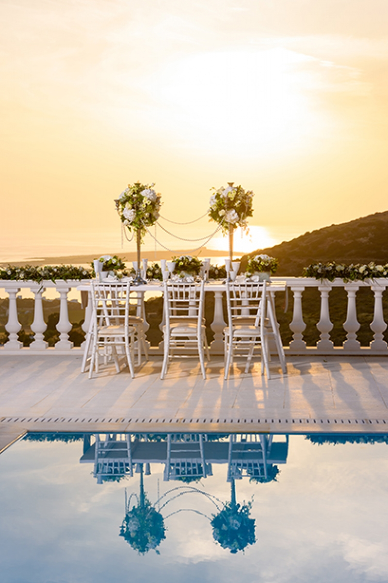 Luxury Elopement at Villa Aethra in Paros