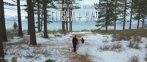 Fairytale, Winter Wedding at South Lake Tahoe, California