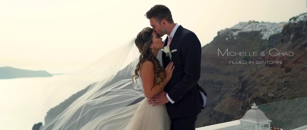 Elegant Spring Wedding at Dana Villas, Santorini!