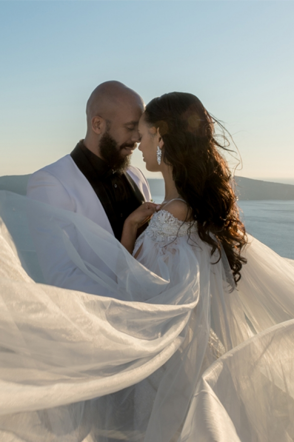 Santorini Wedding at Rocabella Hotel