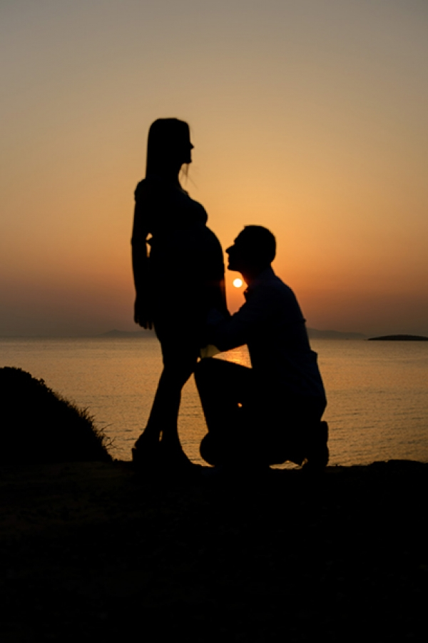 Babymoon photography in Athens