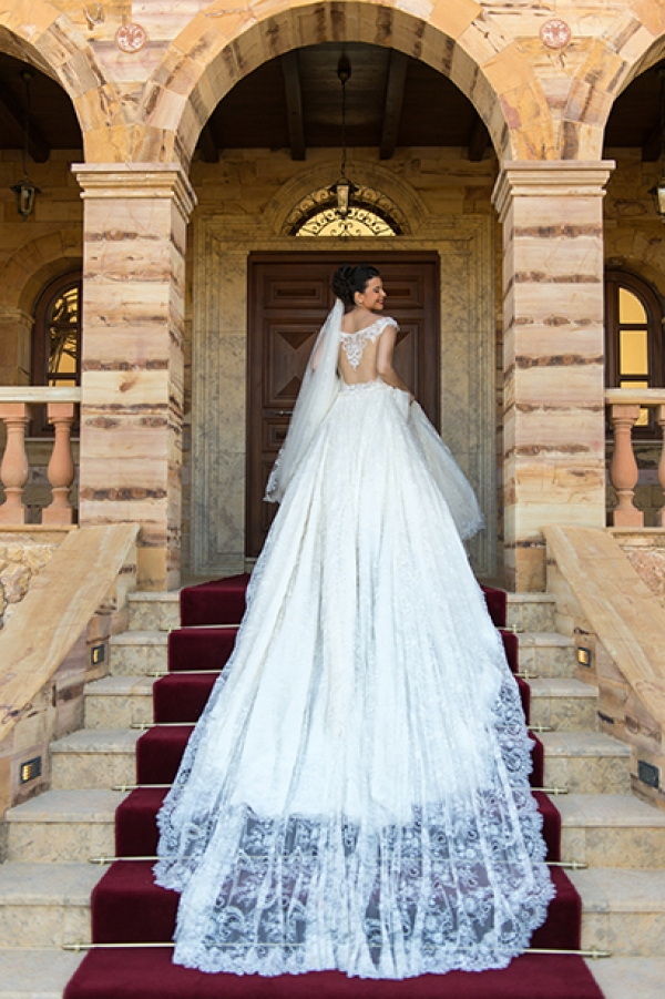 Fairytale wedding at Chatzi Mansion