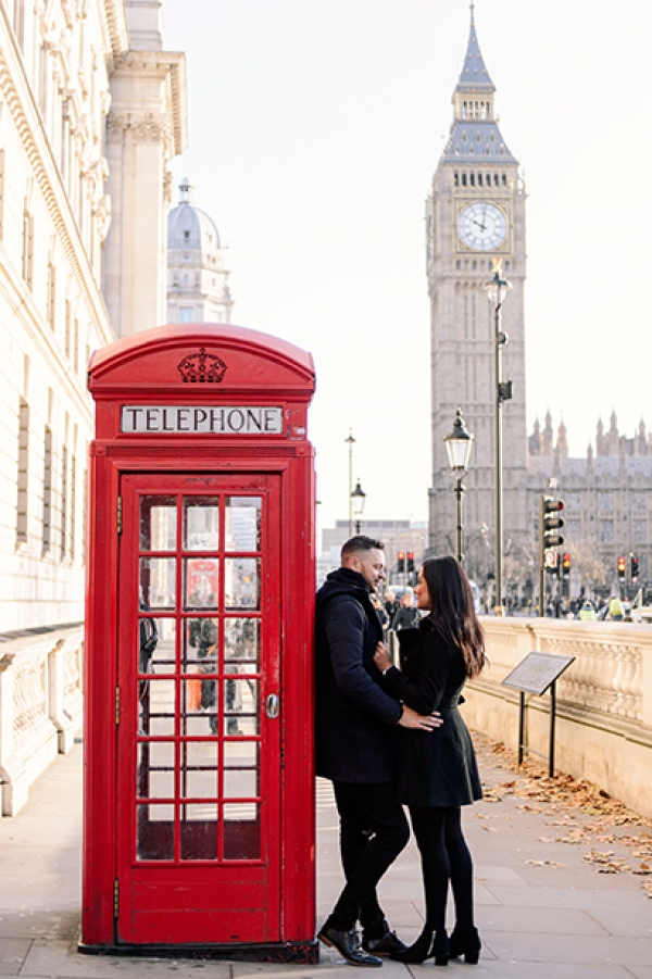 Engagement photography in central London