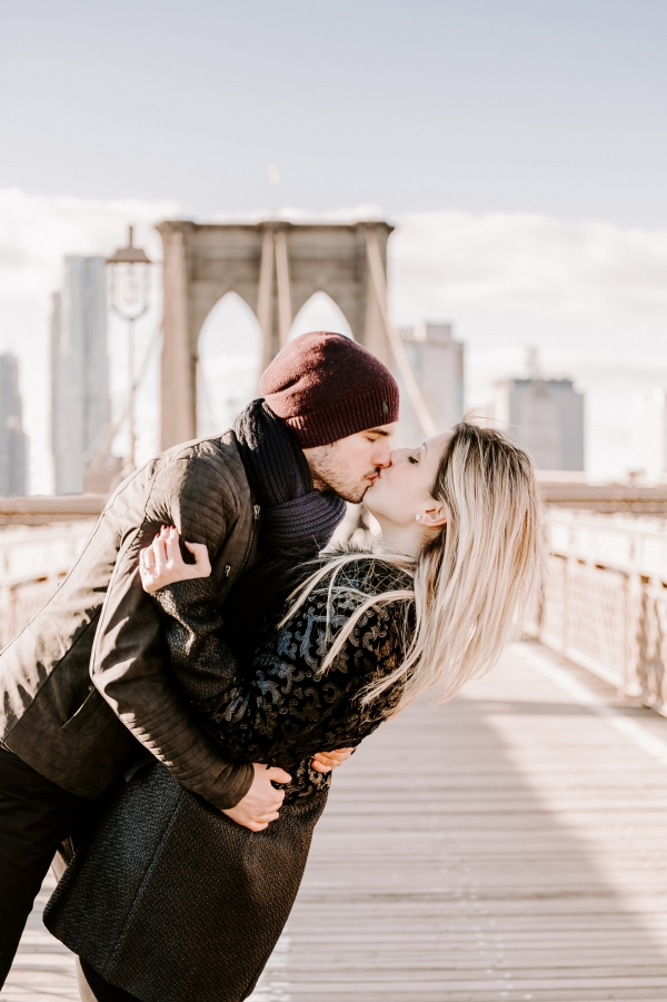 Romantic pre-wedding photography in New York!