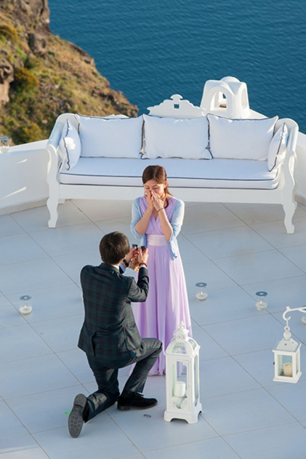 Surprise Proposal at Dana Villas