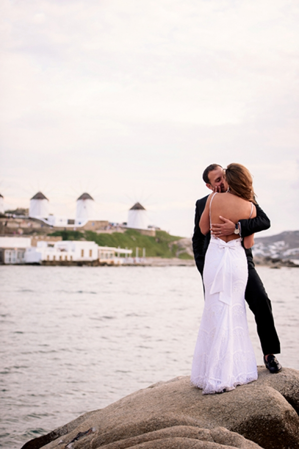 Sara & Anthony a dreamy after wedding shoot in Mykonos