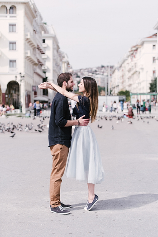 Romantic Couple Photography at Thessaloniki!