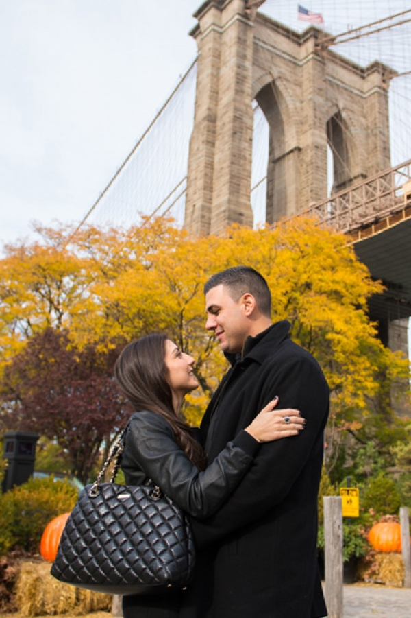Lea & Bill,destination pre-wedding photo-shoot in New York