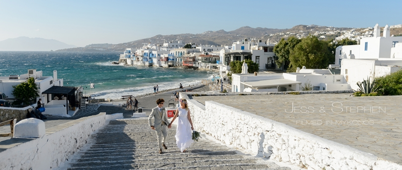 Boho wedding at Mykonos Greece