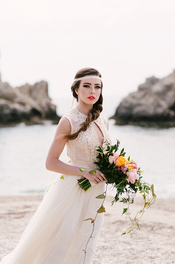 Ethereal Beach Styled Shoot by Zolotas