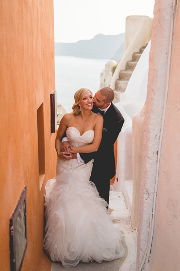 Kassidy & David After Wedding Session in Santorini