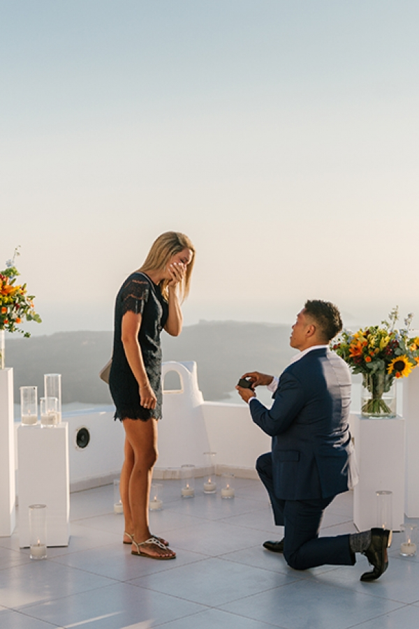 Breathtaking Wedding Proposal at Dana Villas