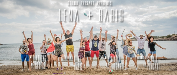A wedding full of love and fun of no limits! ...at Bikini Beach of Alimos, Attiki