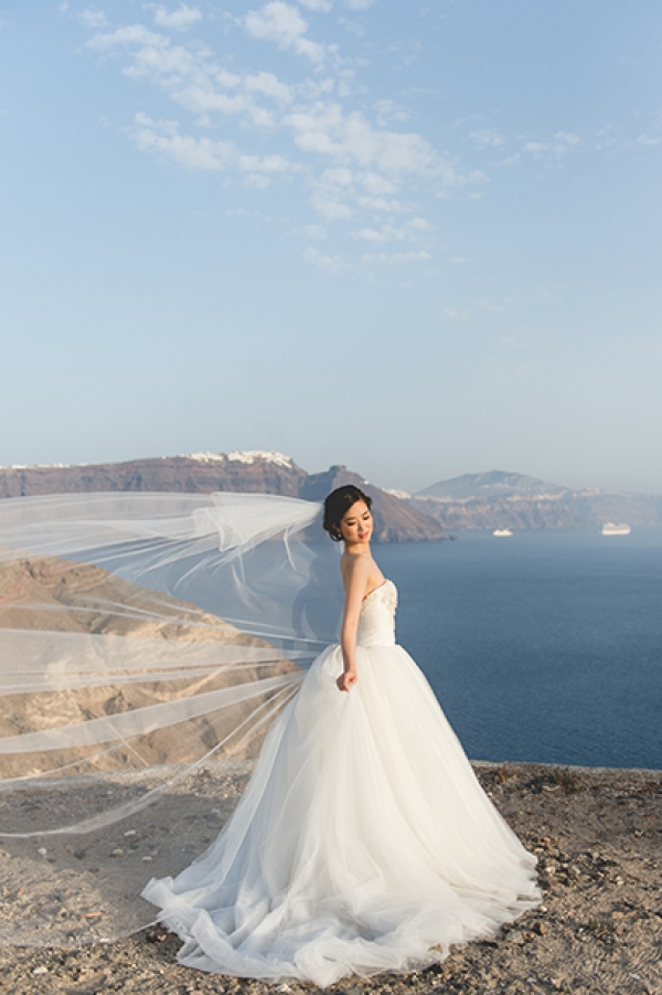 After wedding day at Oia