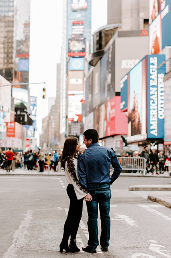 Engagement session at Manhattan, NY