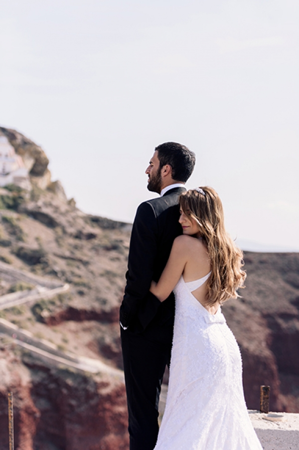Breathtaking After Wedding Photography in Santorini