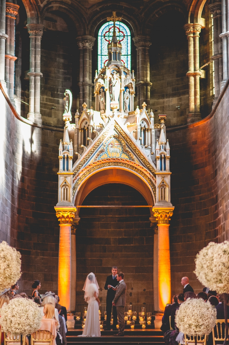 Wedding at Mansfield Traquair, Edinburgh